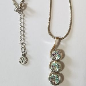 Fifth Avenue Collection crystal necklace